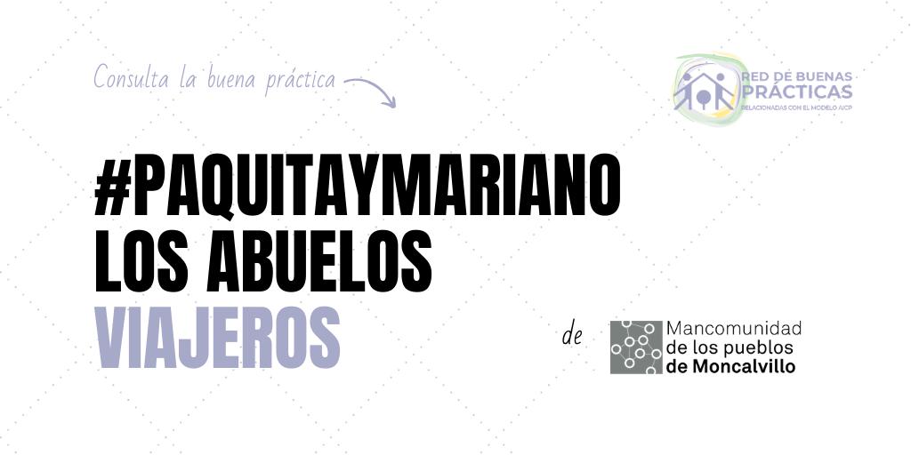 (Actualización) #PaquitayMariano, los abuelos viajeros
