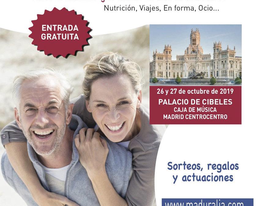 Fundación Pilares presenta Viviendas compartidas: La riqueza de compartir en la Feria Maduralia. Madrid, 26/10/2019