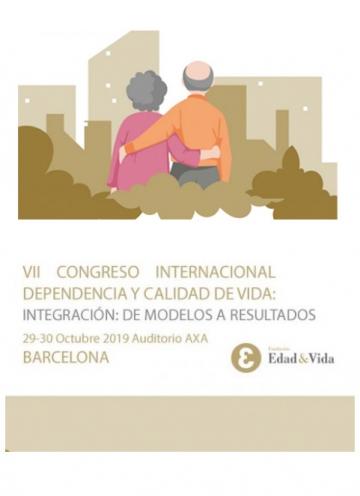 Fundación Pilares presente en el VII Congreso Internacional Dependencia y Calidad de Vida. Barcelona, 29-30/10/2019