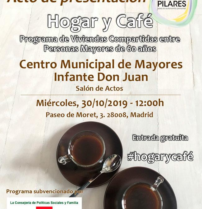 Presentación del Programa Hogar y Café -Viviendas Compartidas entre Personas Mayores-, en el Centro Municipal de Mayores Infante Don Juan. 30/10/2019