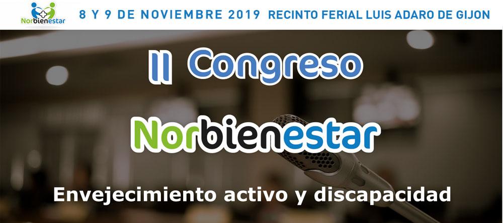 Fundación Pilares presente en el II Congreso Norbienestar. Gijón, 08-09/11/2019
