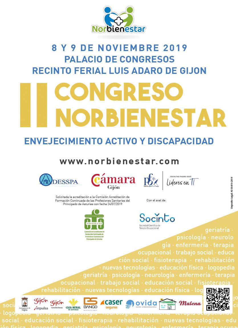 Fundación Pilares presente en el Congreso Norbienestar. Gijón
