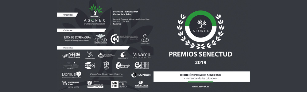 II Premios Senectud. Cáceres, 19/11/2019