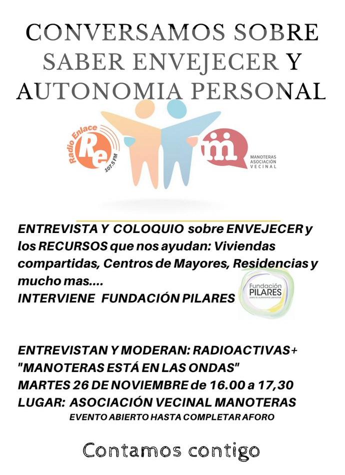 Radio Enlace entrevista a Fundación Pilares
