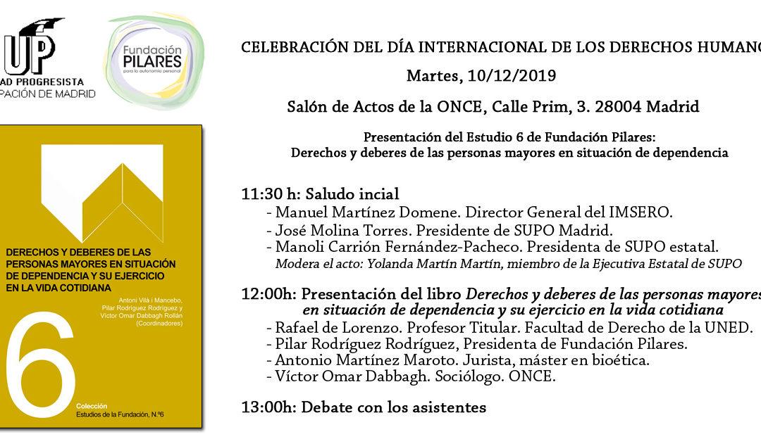 Celebración del Día Internacional de los Derechos Humanos. Madrid, 10/12/2019