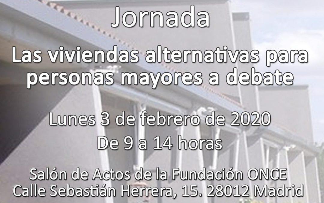 Celebrada la jornada Las viviendas alternativas para personas mayores a debate. Madrid, 03/02/2020