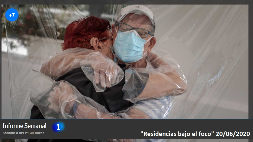 «Residencias bajo el foco». La Fundación Pilares participa en un especial de Informe Semanal sobre el impacto de la COVID-19 en las residencias para personas mayores.