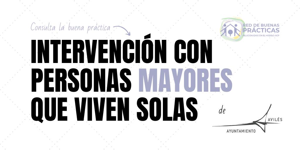 Programa de intervención con Personas Mayores que viven solas en el Municipio de Avilés