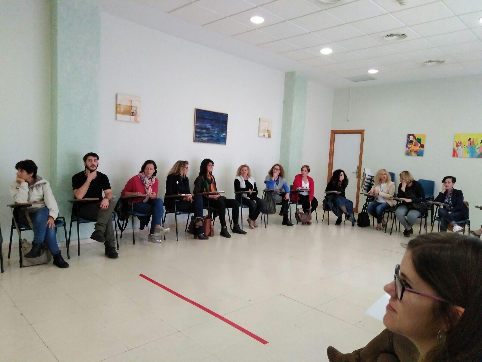 Jornada: ¿Cuidamos los cuidados? El valor social del cuidado y de quienes cuidan. 27/04/2017, Almoradí