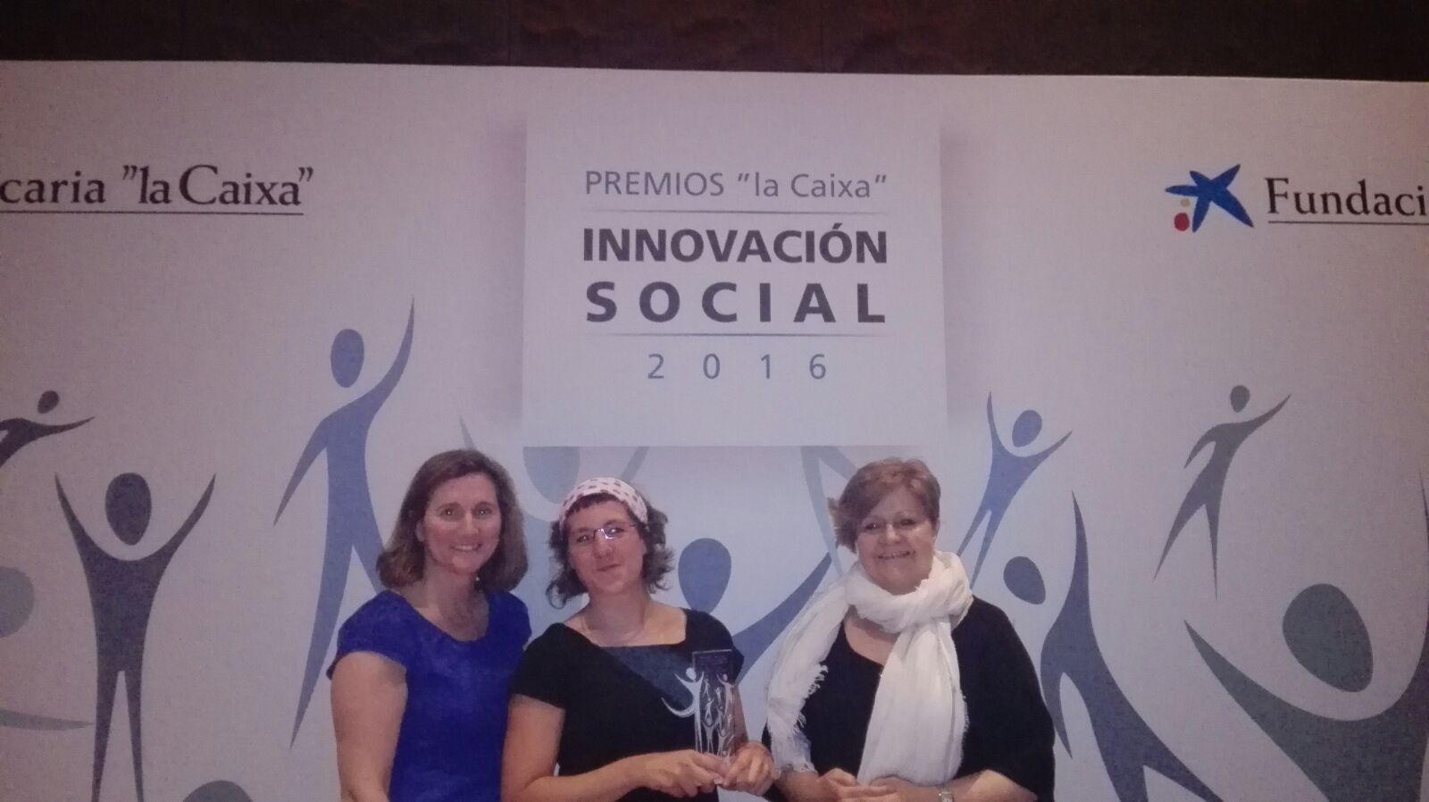 Paula Álvarez Naveiro, Ana García Mendoza y Pilar Rodríguez