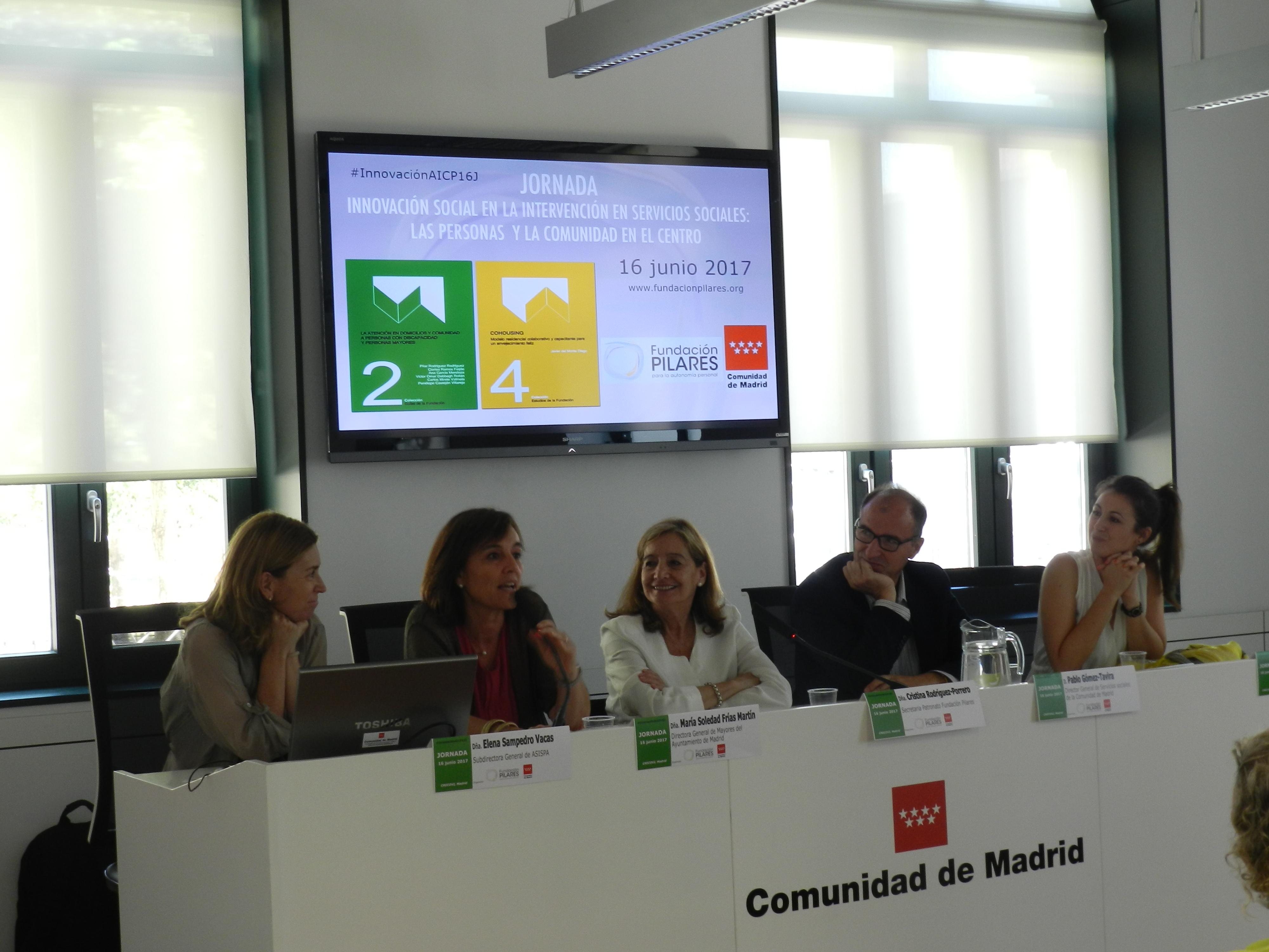 Elena Sampedro Vacas, María Soledad Frías Martín, Cristina Rodríguez-Porrero, Pablo Gómez-Tavira y Sara Saiz Bailador