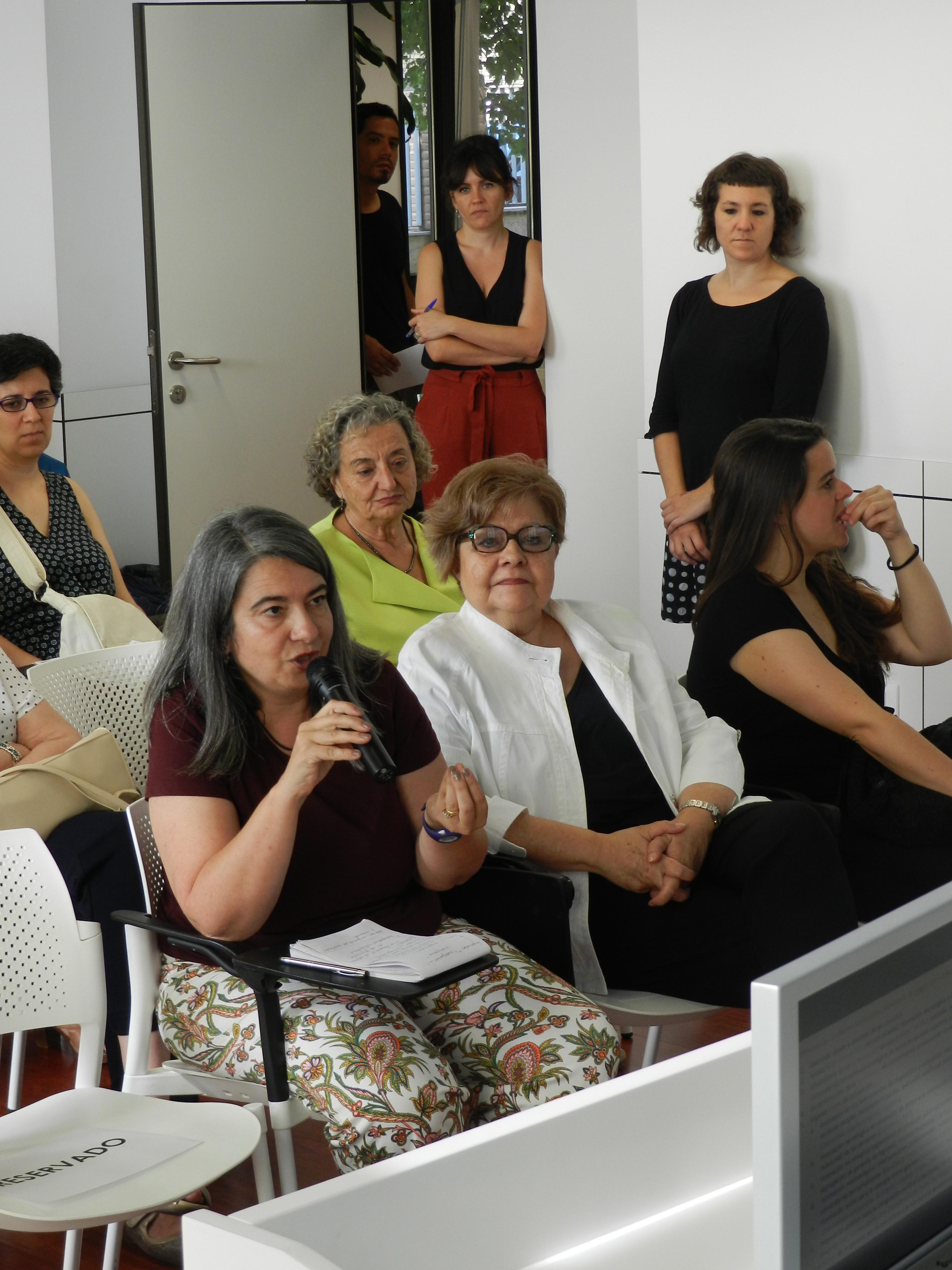 Clarisa Ramos y Pilar Rodríguez