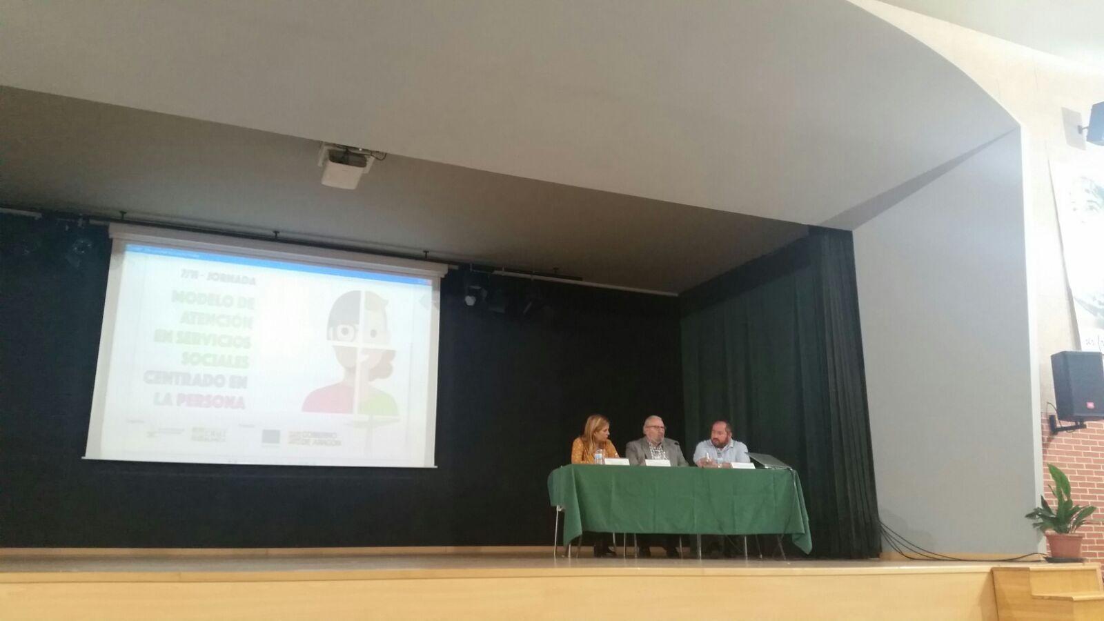 Inauguración de la Jornada: Modelo de Atención en Servicios Sociales Centrado en la Persona.