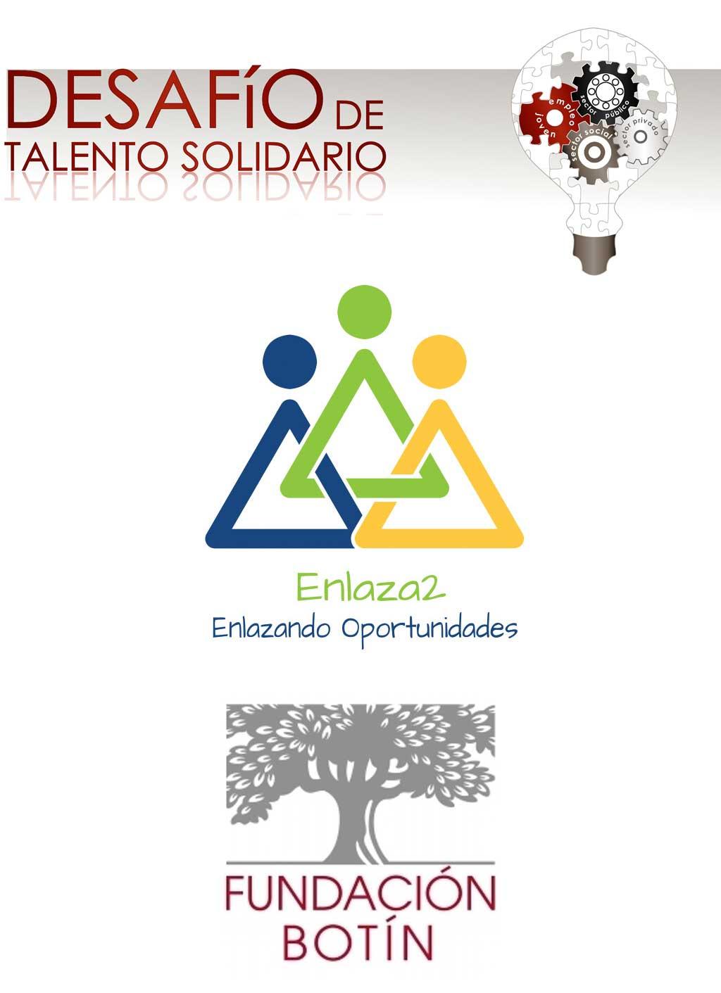 Talento Solidario, Enlaza2 y Fundación Botín