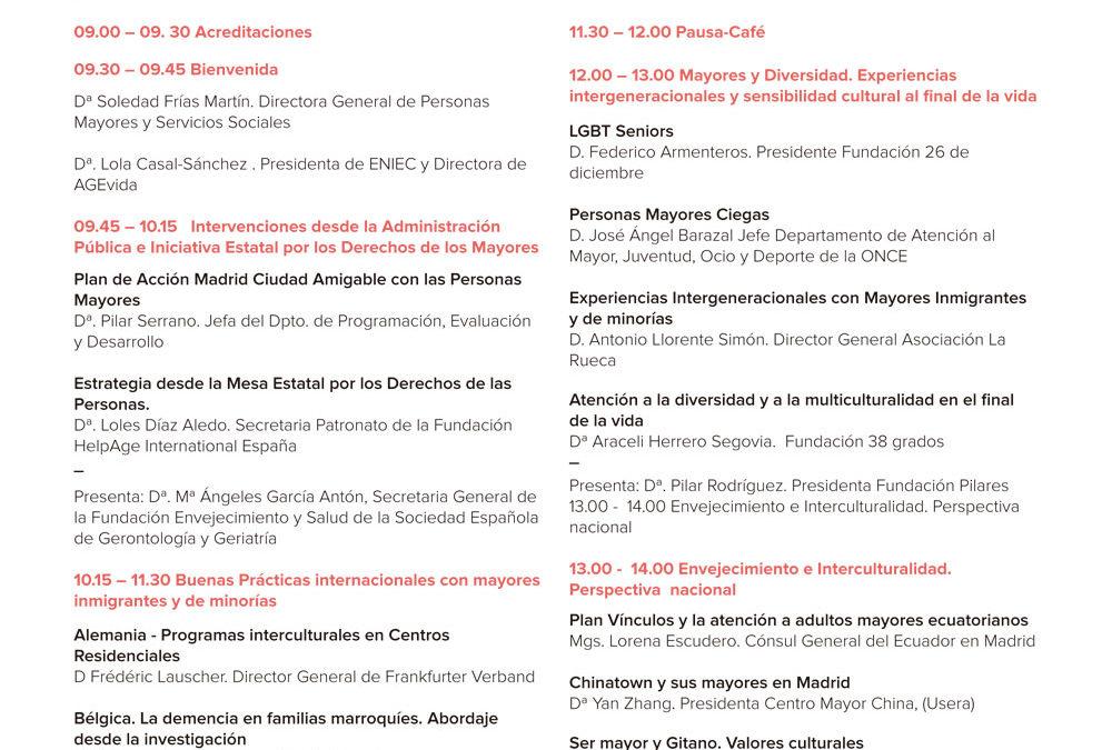 Jornada Internacional Envejecimiento Activo, Diversidad e Interculturalidad