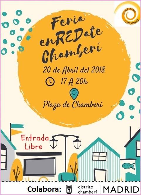 I Feria de Entidades 'EnREDate Chamberí'. 20/04/2018