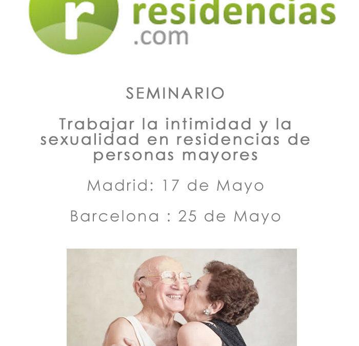 Seminario Inforesidencias: Pilar Rodríguez habla del 'Aprendizaje desde la experiencia en procesos de implementación de la AICP en residencias'