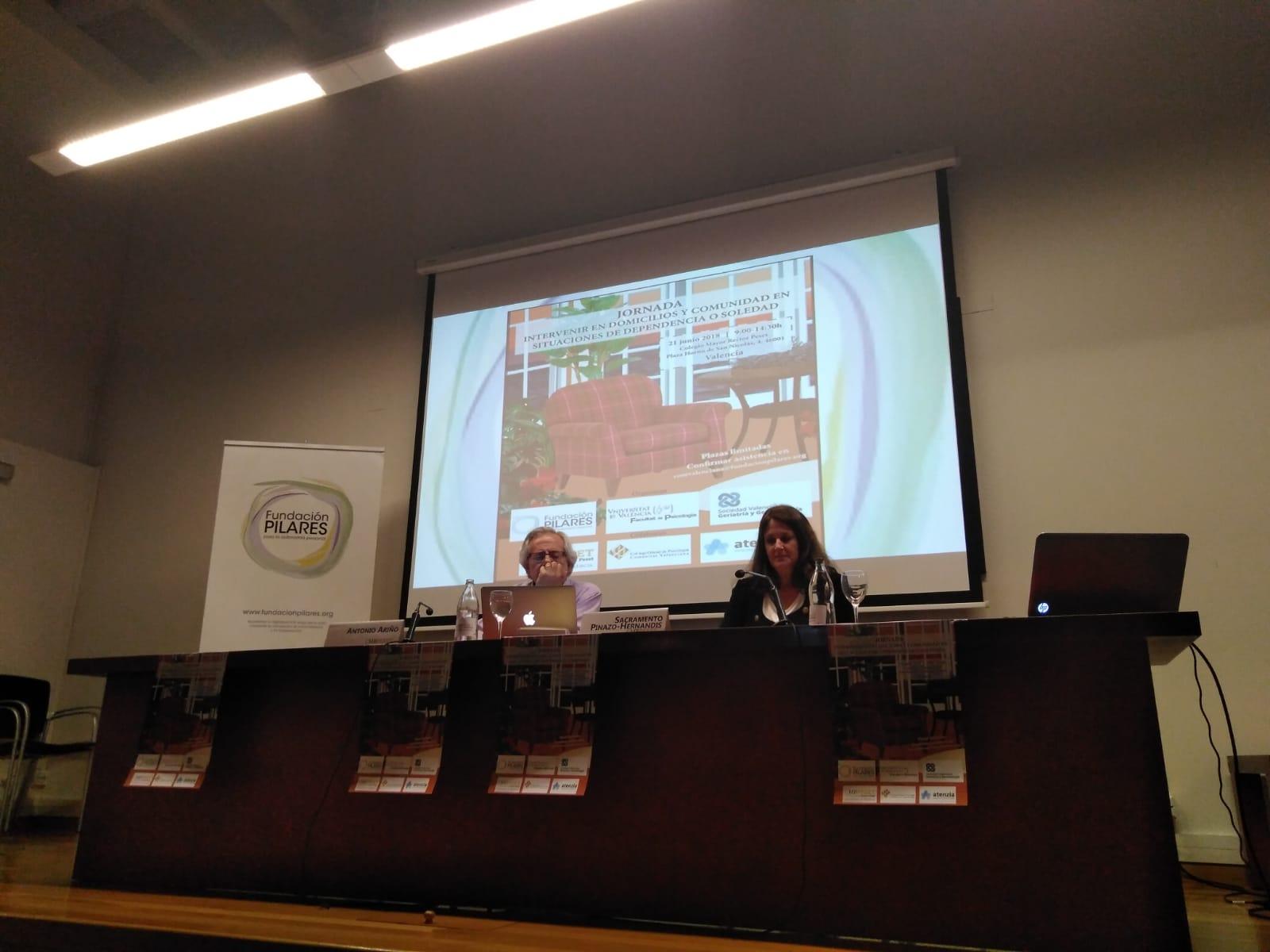 Jornada en Valencia: 'Intervenir en domicilios y comunidad en situaciones de dependencia o soledad'