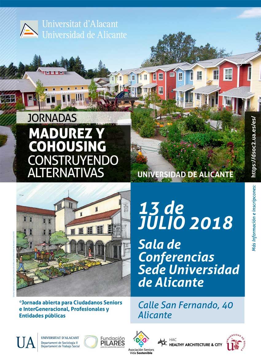 Jornada Madurez y Cohousing, construyendo alternativas