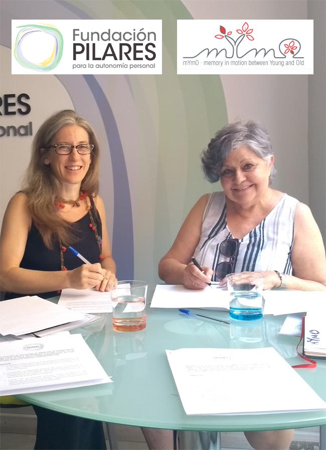 Fundación Pilares y MyMo firman un convenio