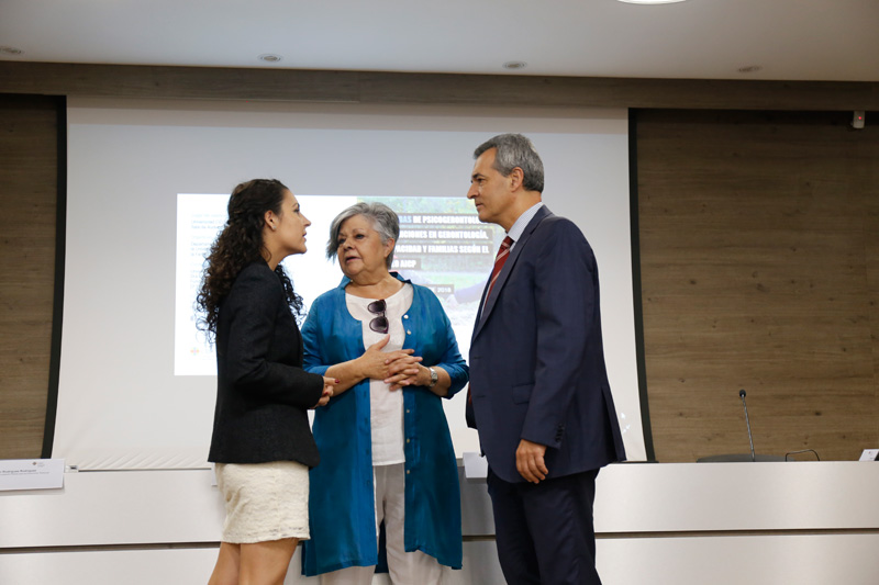 Antonio Calvo, Pilar Rodríguez y Cristina Noriega García