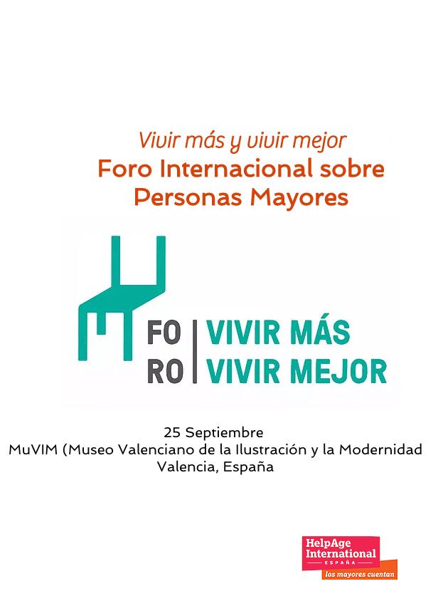Pilar Rodríguez hablará sobre el Reto demográfico en el II Foro Internacional sobre Personas Mayores. Vivir más y mejor