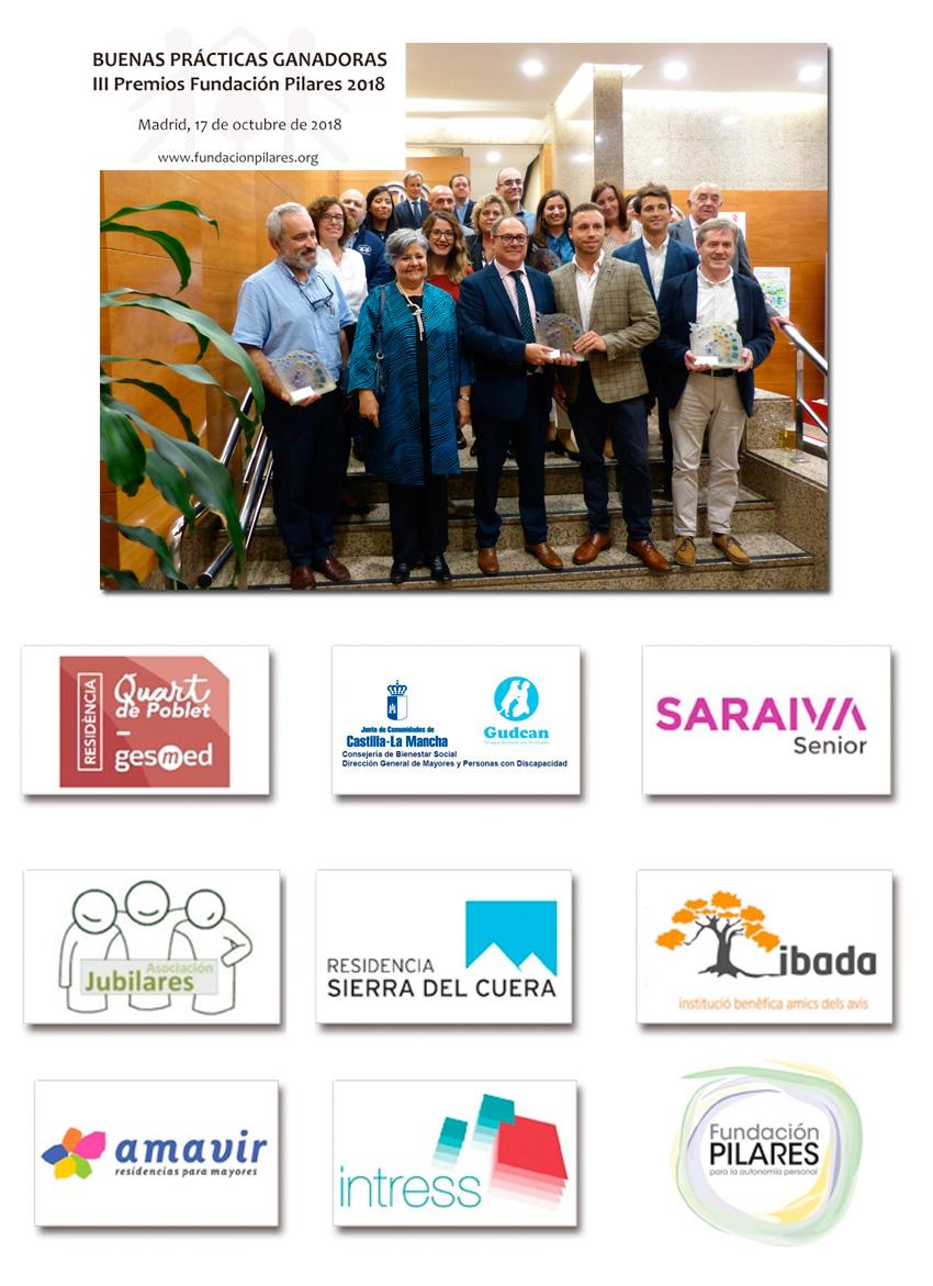 Entregados los III Premios Fundación Pilares a las Buenas Prácticas en AICP