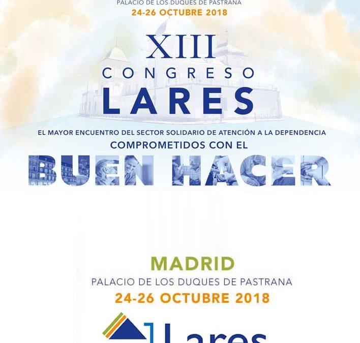 Fundación Pilares presente en el XIII Congreso Lares 2018