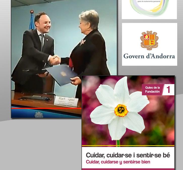 Convenio de Colaboración entre el Gobierno de Andorra y la Fundación Pilares
