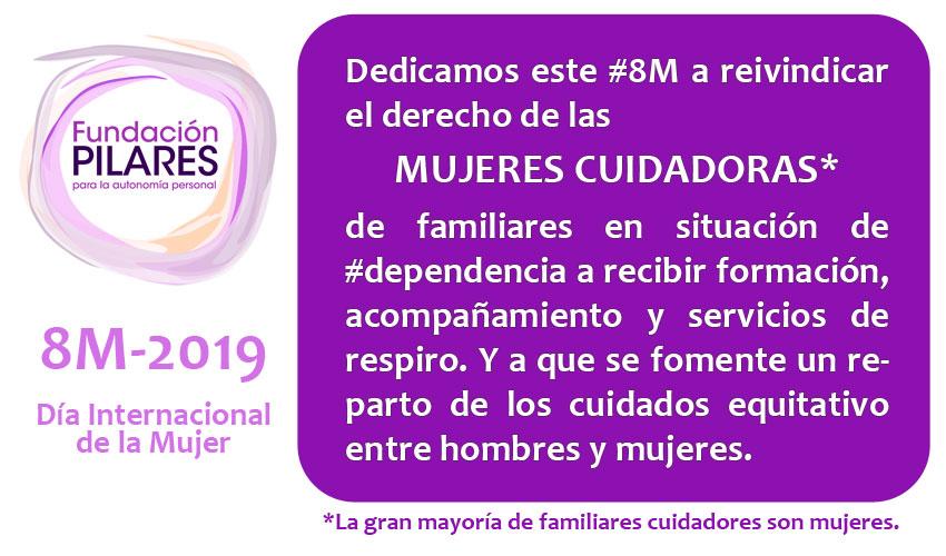 Comunicado de Fundación Pilares con motivo del Día Internacional de la Mujer
