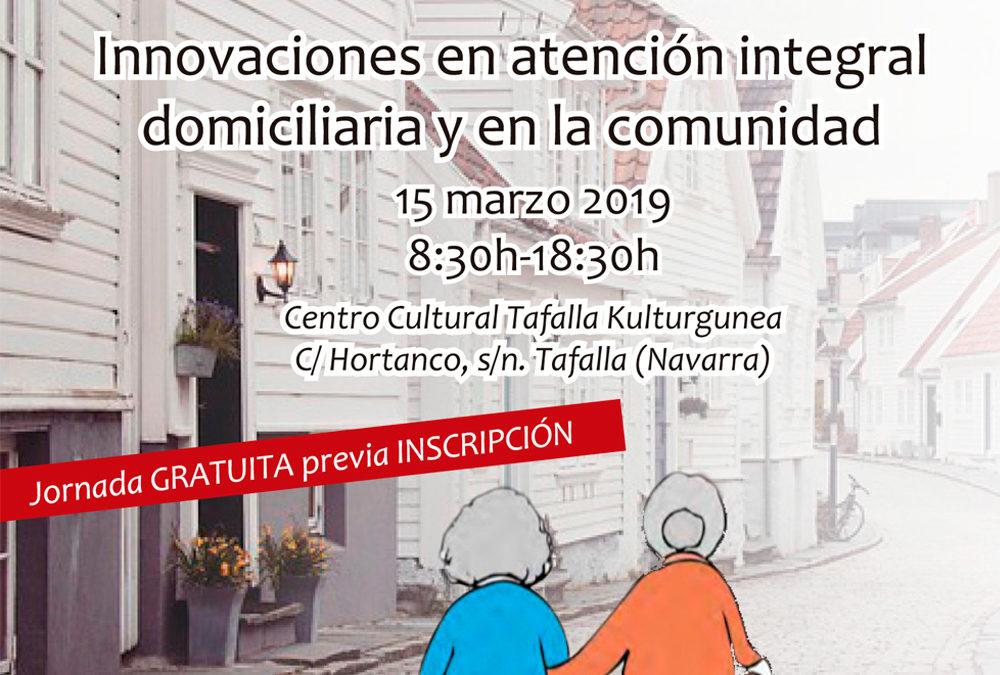 Jornada sobre 'Innovaciones en atención integral domiciliaria y en la comunidad'