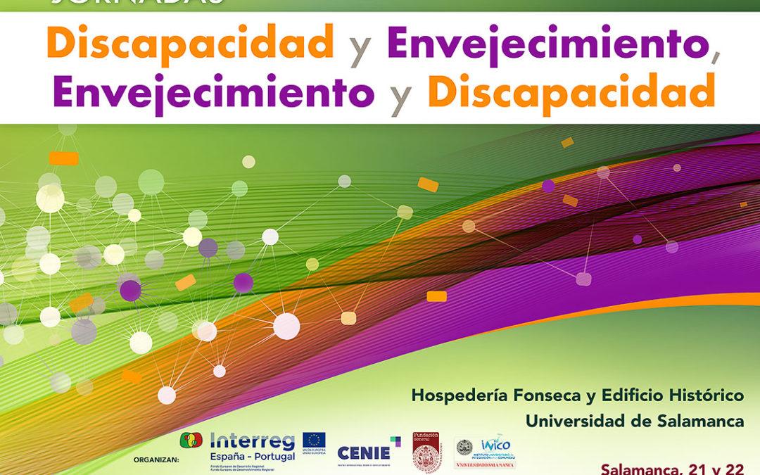 Pilar Rodríguez presente en la Jornada Discapacidad y Envejecimiento de Salamanca. 21-22/03/2019