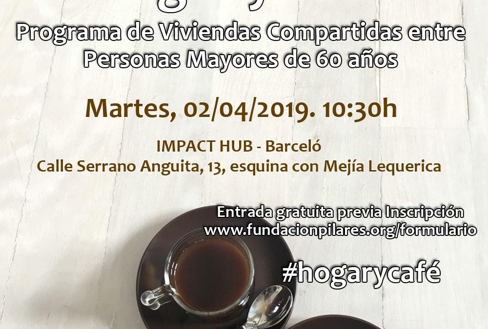Acto de Presentación del Programa Hogar y Café -Viviendas Compartidas entre Personas Mayores-, organizado por la Fundación Pilares