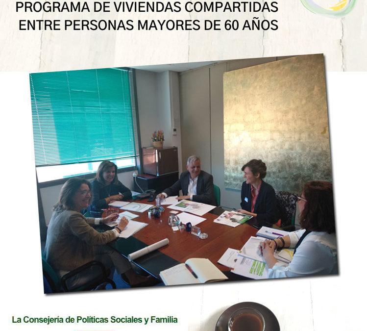 Impulso del Programa Hogar y Café -Viviendas Compartidas entre Personas Mayores- en el Ayuntamiento de Alcobendas