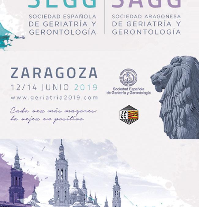 Fundación Pilares presente en el 61 Congreso de la SEGG. Zaragoza, 12-14/06/2019