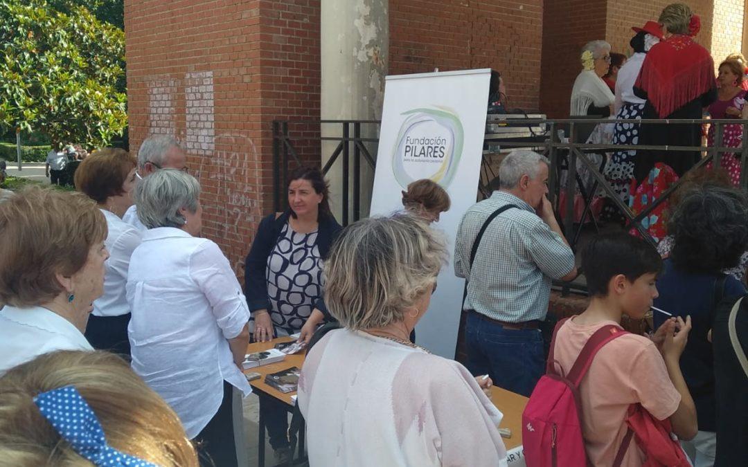 Hogar y Café en el Centro Municipal de Mayores La Remonta. Tetuán, Madrid, 13/06/2019