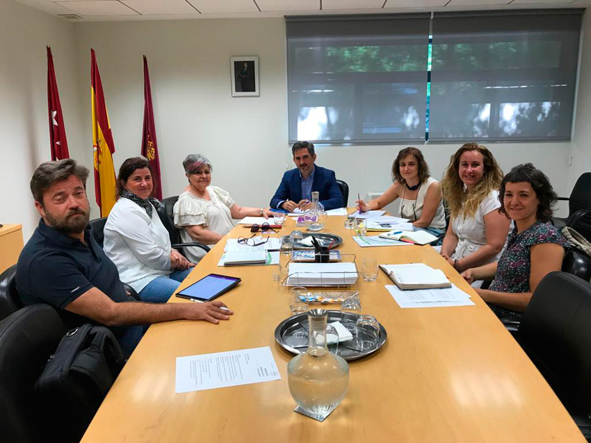 Reunión de Fundación Pilares con el Ayuntamiento de Madrid