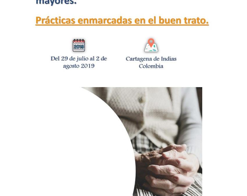 Fundación Pilares presente en el Curso Prevención y abordaje de la violencia, maltrato y abuso a las personas adultas mayores. Cartagena, Colombia