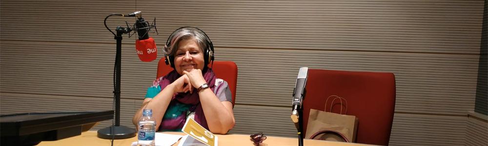 Pilar Rodríguez en 'Juntos paso a paso' de RNE