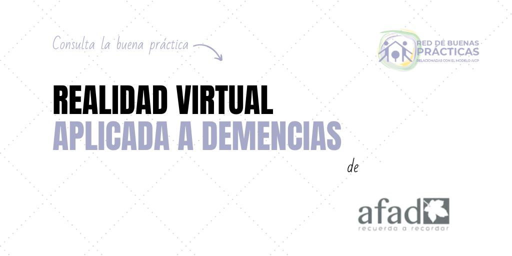 Realidad virtual aplicada a las demencias