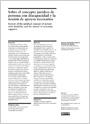 Sobre el concepto jurídico de persona con discapacidad y la noción de apoyos necesarios