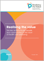 Realising the value Ten key actions to put people and communities at the heart of health and wellbeing