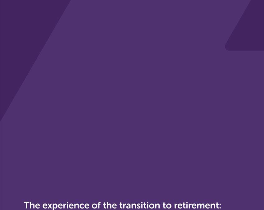 La experiencia en la transición hacia la jubilación: informe rápido de evidencia