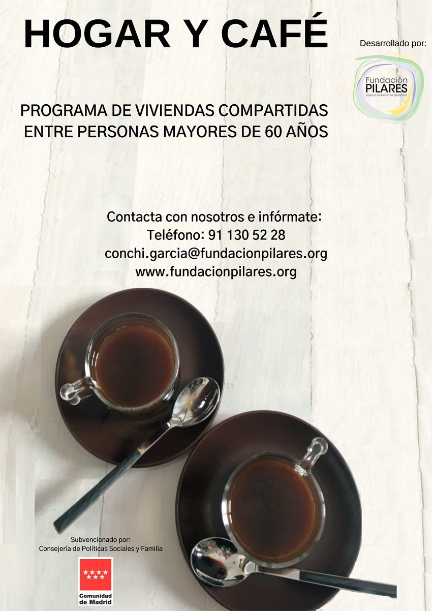 Programa Hogar y Café -Viviendas Compartidas entre Personas Mayores-