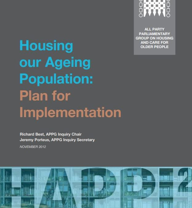 Housing our Ageing Population: Plan for Implementation