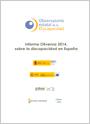 Informe Olivenza 2014, sobre la discapacidad en España