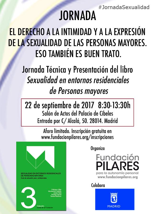 Jornada: El derecho a la intimidad y a la expresión de la sexualidad de las personas mayores