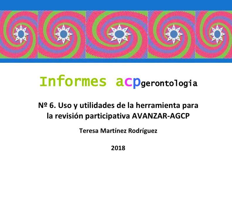 Uso y utilidades de la herramienta para la revisión participativa AVANZAR-AGCP