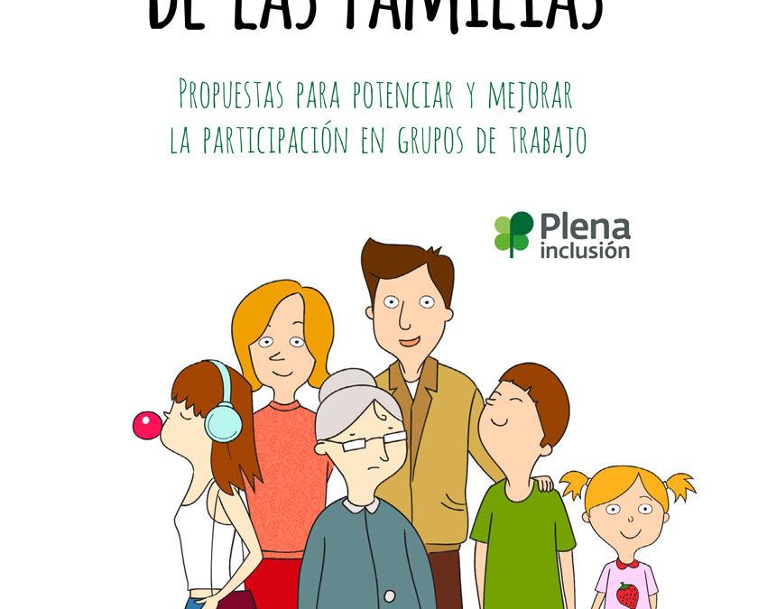 Participación de las familias: Propuestas para potenciar y mejorar  la participación en grupos de trabajo
