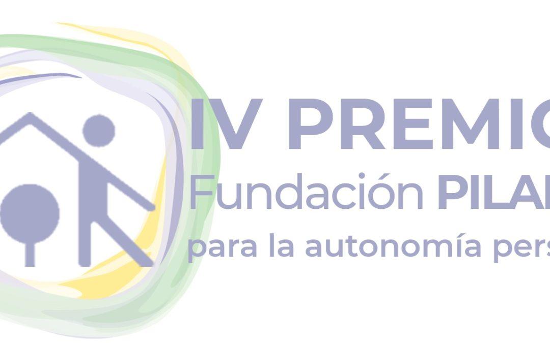 Se convocan los IV Premios Fundación Pilares